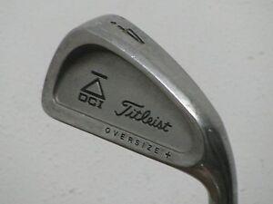 Titleist-DCI-Black-Oversize-4-Iron-Stiff-Flex-Trispec-Steel-Very-Nice