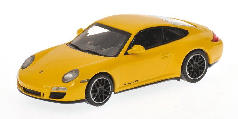Porsche 911 Gts 2011 jaune 1 43 Model MINICHAMPS   prix de gros