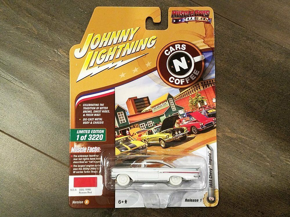 descuento online Johnny Lightning 1 64 Muscle Muscle Muscle Coches 2018 1 A 1959 Chevrolet Impala jlcp 7076 Chase  ahorra hasta un 80%