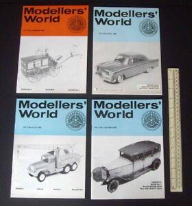 1981/82 Vintage MikanSue Modellers' World Collectors Magazine Complete Vol 11