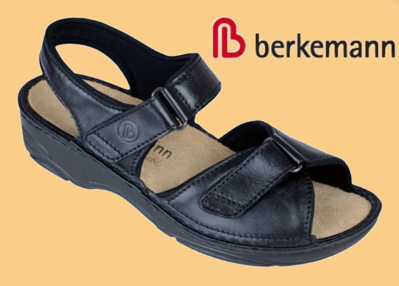 Sandalen Pantoffeln WECHSELFUßBETT Berkemann Pantoletten Hausschuhe Pantoffeln Sandalen Leder div Gr cc3e7e