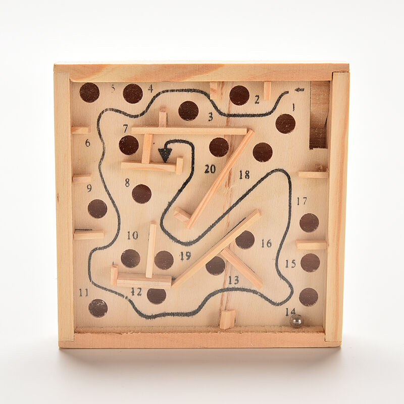 balance game wooden board game labyrinth
