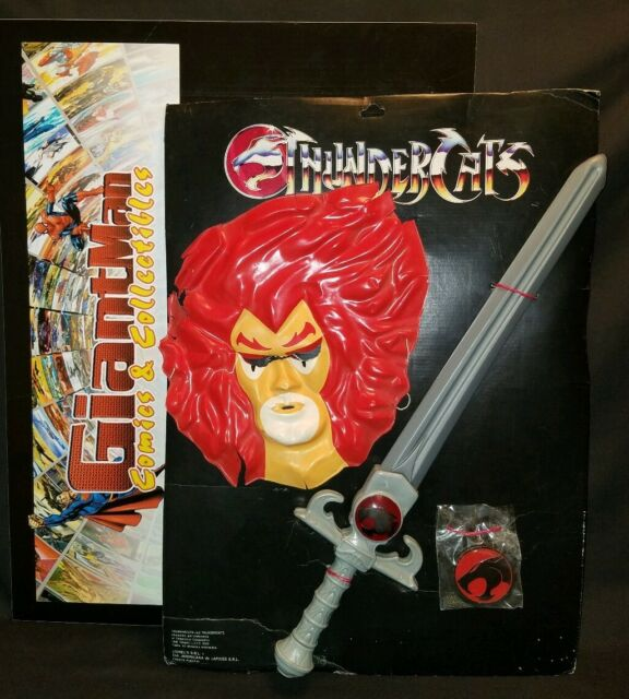 Mumm-ra Ever Living Face Patch Thundercats Lion-o Sword of Omens Embroidered