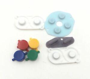 Initiative Plastique Boutons Et Caoutchoucs Ensemble Pour Game Boy Zéro Pi (pour Modifier Dmg)-afficher Le Titre D'origine
