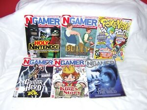 VINTAGE-NGAMER-NINTENDO-MAGAZINES-20-21-23-35-27-all-VERY-GOOD-CONDITION
