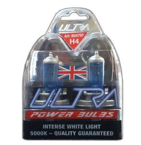 2-H4-Ultra-Power-Bright-5000k-Xenon-Gas-White-Car-Front-Headlight-Headlamp-Bulbs