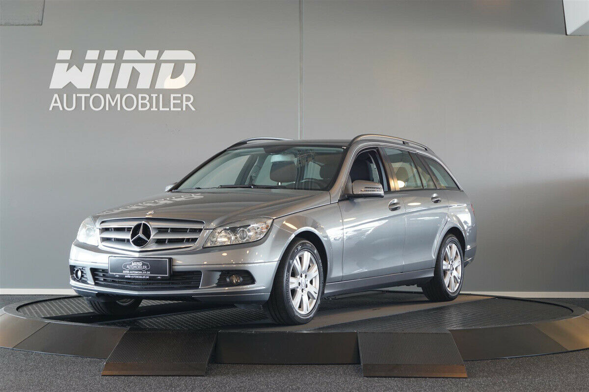 Mercedes C200 2,2 CDi stc. BE 5d - 144.800 kr.