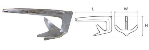 Bruce-Anker 7,5 kg verzinkt NEU Bruceanker Anker 3392 Anker & Ketten