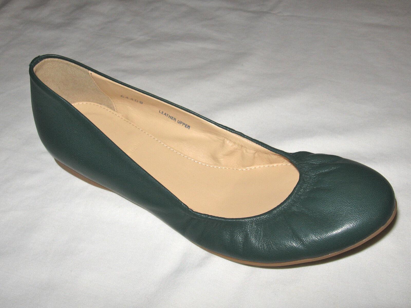 J.Crew Cece Leather Ballet Retail: Flats Color:Boulevard verde Retail: Ballet 138+Tax a48768