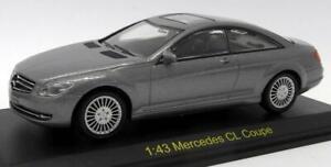 Expresso-Auto-Modelos-Diecast-Escala-1-43-EA90061-MERCEDES-BENZ-CL-COUPE-Gris
