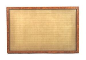 Small-Antique-Fits-12-X-7-5-Birdseye-Maple-Picture-Frame-Fine-Art-Sampler-Curly