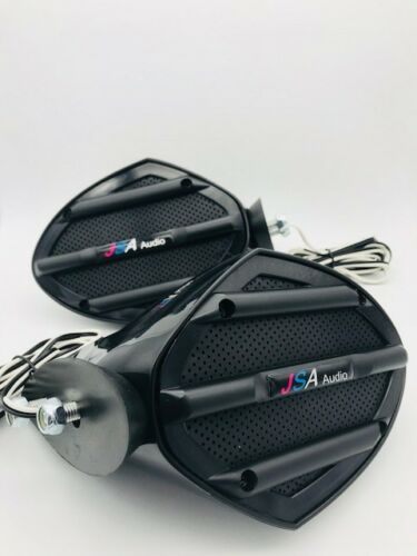 Yamaha MIRROR FZR FZS EX JET SKI SPEAKERS PAIR STEREO UNIVERSAL FIT DIY
