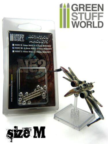 Aimants Rotatifs taille M pour jeu de figurines X-Wing K-Wing ARC-170 StarWars