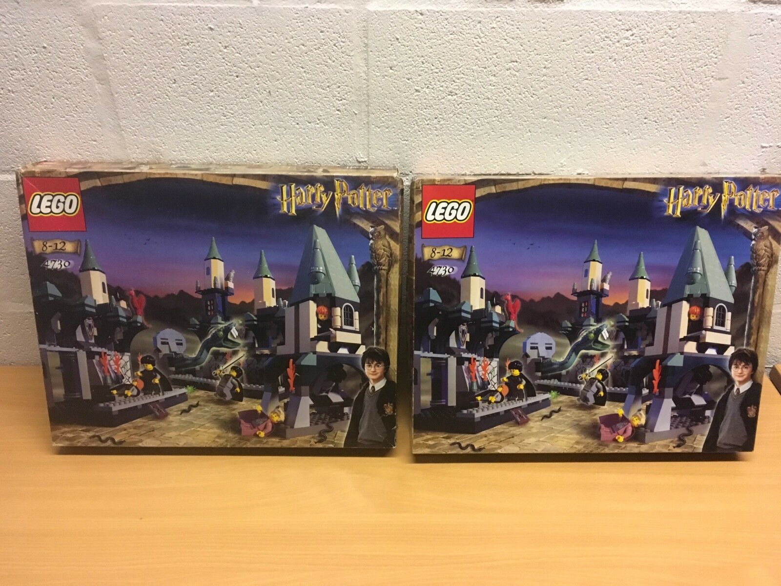 LEGO HARRY POTTER 4730 NEW SEALED THE CHAMBER OF SECRETS
