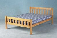 Double Bed + Mattress 4ft 6in Carlow Tanya Best Price