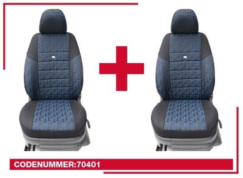 VW Passat b8 mesure housses de protection housse de siège Siège-auto Housses conducteur /& passager 70401