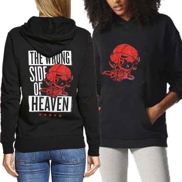 Five Finger Death Punch - Wrong Side Of Heaven New New New Women's Hoodie Longsleeve 2faa8a