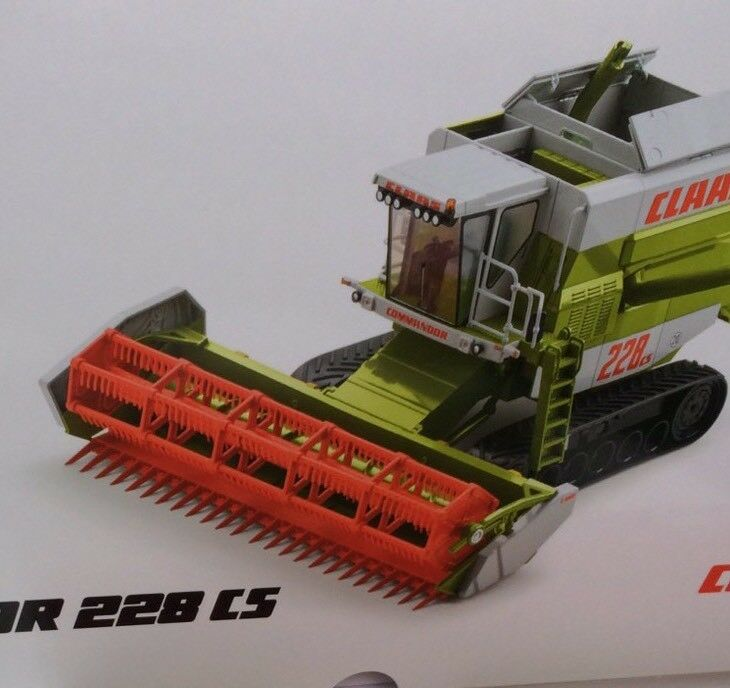 CLAAS commandor 228 CS 1 32 Agritechnica 2017 Limited Edition Wiking 1000pcs.