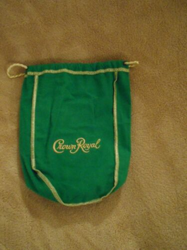 NO ALCOHOL CROWN ROYAL GREEN APPLE BAG ONLY 750 ML SIZE