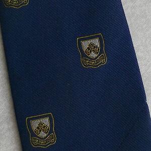 Acheter Pas Cher Vintage Cravate Homme Cravate Shield Crested Club Association Society-afficher Le Titre D'origine ChronoméTrage Ponctuel