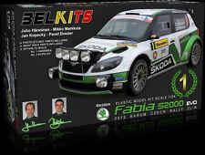 BELKITS 1:24 KIT AUTO SKODA FABIA S2000 2012 BARUM CZECH RALLY ZLIN ART BEL-004