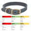 thumbnail 6 - Ancol-Dog-Collar-Timberwolf-Leather-Puppy-Collar-Sable-Brown-Blue