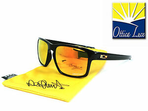 OAKLEY-SLIVER-9262-27-POLISHED-BLACK-FIRE-IRIDIUM-VR46-VALENTINO-ROSSI-Sunglass