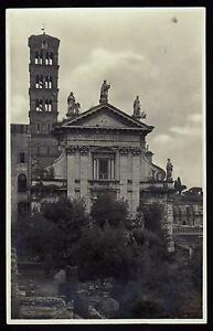 ROMA-CARTOLINA-CHIESA-DI-S-FRANCESCA-ROMANA-FP-VG-1929-GRAFIA