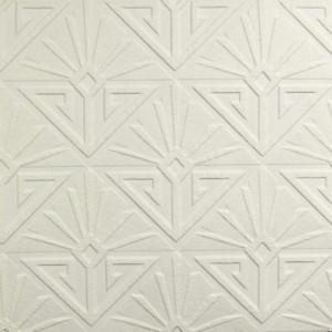 Art Deco Style, Heavyweight Blown Vinyl, Paintable Wallpaper RD576
