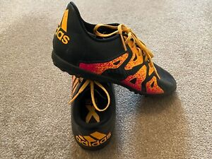 Adidas-X-15-4-TF-Junior-5-Football-Baskets-Astro-Turf-Football-Chaussures-Bottes-S78174