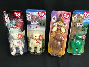 62598d11f4c Image is loading 4-NEW-Ty-Teenie-Beanie-Babies-Britannia-Glory-
