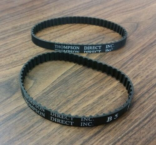 Pair of Thompson Direct 110XL 037 Timing Belts
