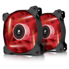 Corsair Air Series Af120-led Quiet Edition High Airflow LED Fan 120 Mm - Red