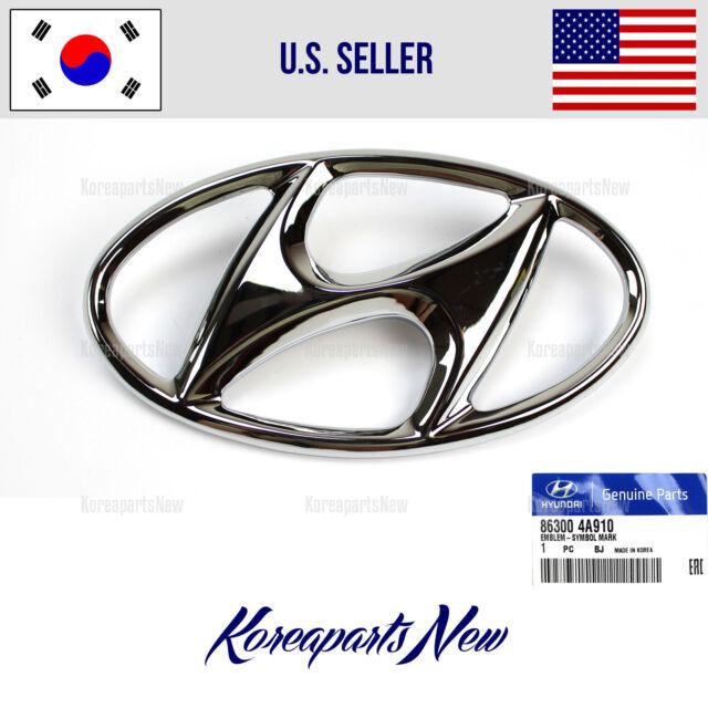 Hyundai I20 2009 2012 Oem Genuine Parts Front H Logo Emblem