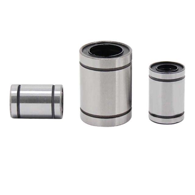 LM8UU for 3D Printer DIY 8mmx15mmx24mm 24pcs CNC Linear Bearings