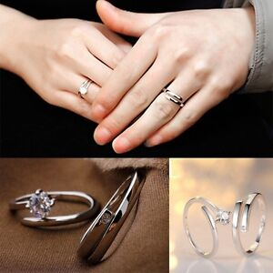 Image Is Loading Lover Promise Rings Jewelry Engagement Ring Wedding