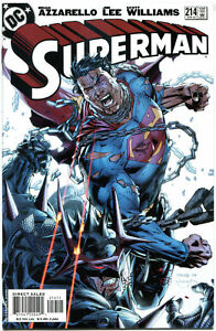 SUPERMAN-214-NM-Jim-Lee-Brian-Azzarello-1987-more-DC-amp-SM-in-store