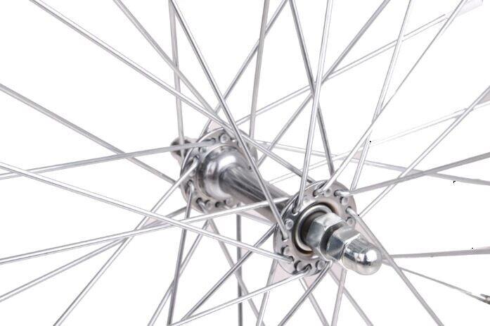 Roland Rad-Fahrradanhänger 20 Zoll-Full-Jumbo Alaun. 36t Silber