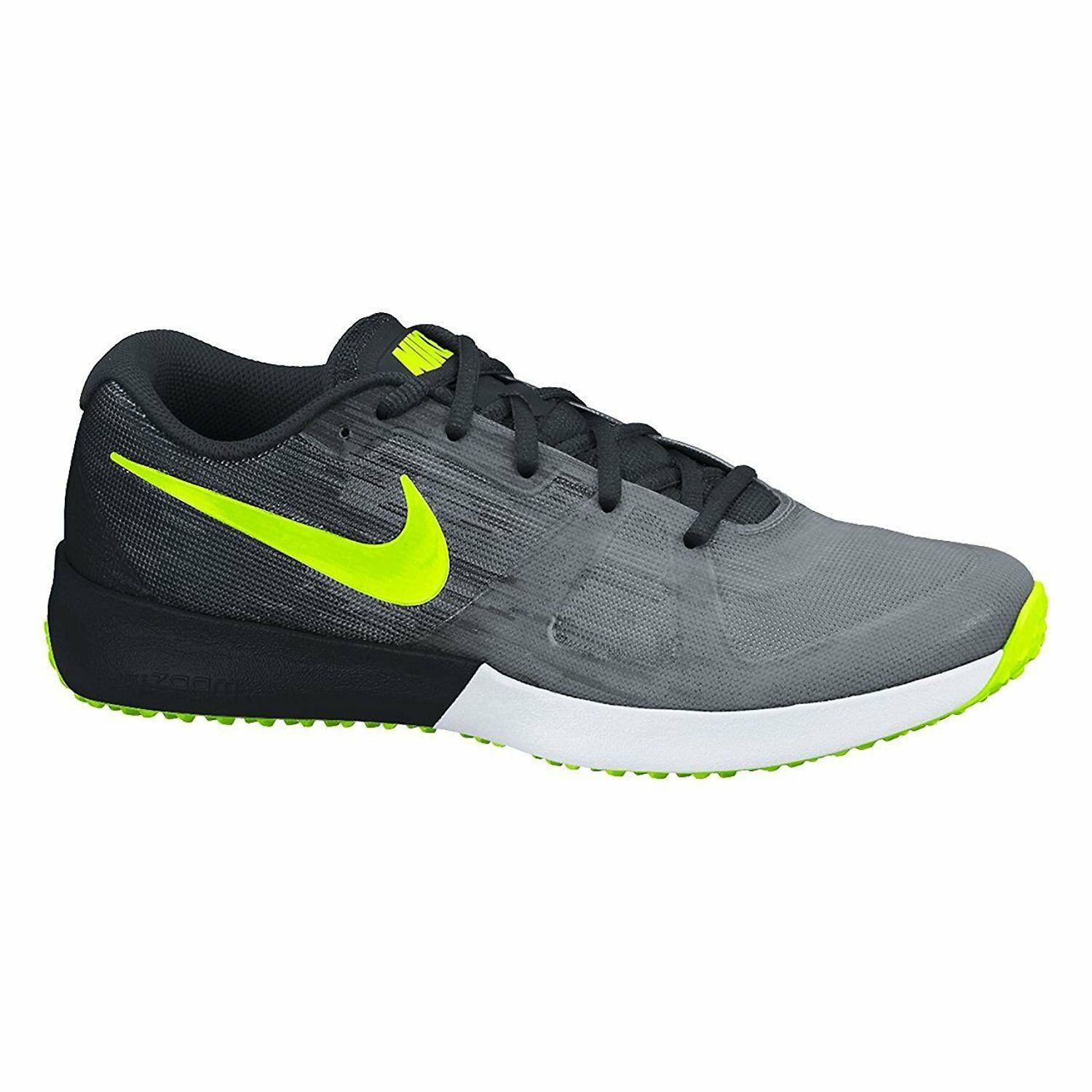 Men's Nike Zoom Speed TR Training shoes, 630855 070 Size 9 Cool Grey Volt Black