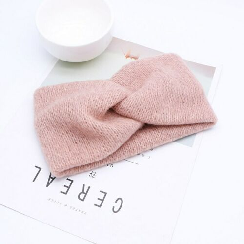 Warm Knitted Baby Girl Headband Winter Soft Kids Children Turban Hair Band