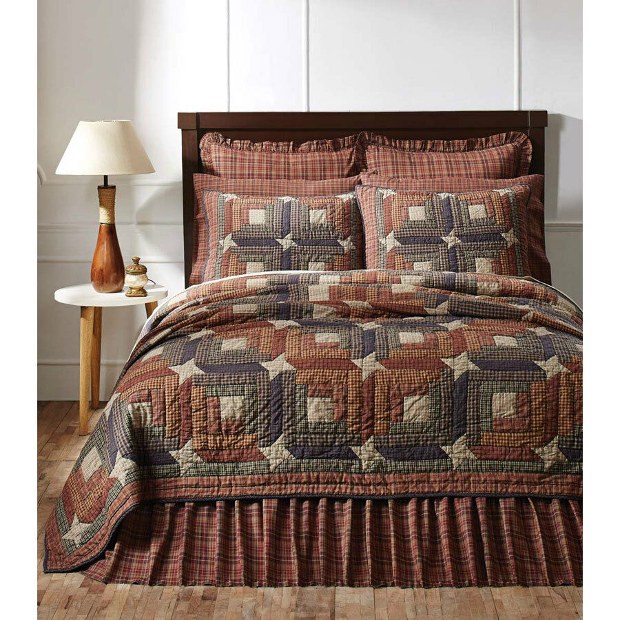Parker Twin Quilt   Bedspread by VHC Brands
