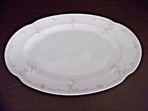 Kaiser-Dubarry-Orangerie-Oval-Serving-Platter-West-Germany