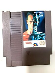 Terminator-2-T2-ORIGINAL-Nintendo-NES-Game-Authentic-Tested-WORKING
