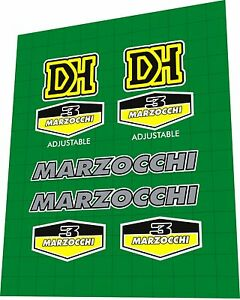 Decal Set MARZOCCHI Bomber Z1 1996 Fork Sticker