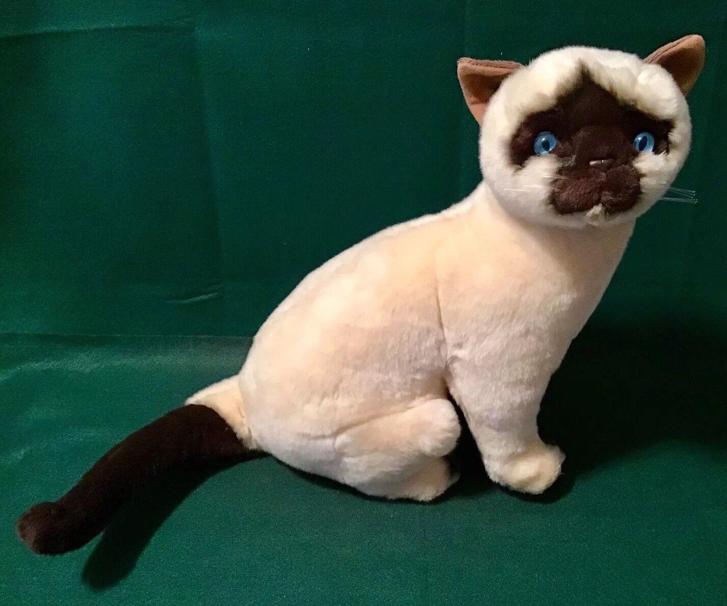 Bocchetta Stuffed Cat Plush Siamese Cat Stuffed Noodles Toy 49bb10