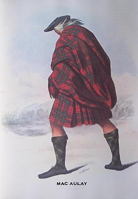 Clan MacLachlan MATTED Scottish Tartan Art Print