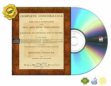 A complete concordance to the Holy Scriptures of the Old and New Testament CDROM