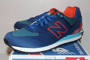new balance 574 blue and orange