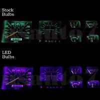 Dash Cluster Gauge Purple Led Light Bulbs Kit Fits 80-86 Ford F100 F150 F250