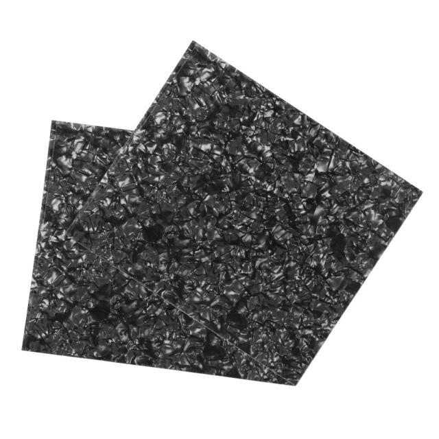 Dark Tortoise Shell Celluloid Material Pickguard Blank Sheet for Acoustic Guitar